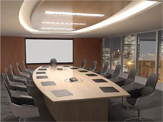 LED in kantoor